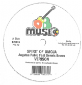 Augustus Pablo ft Dennis Brown - Spirit Of Umoja / Nambo & Dean - Idi Amin  (DEB Music) 12""